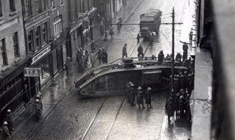 The British army in Capel Street 1920/1921