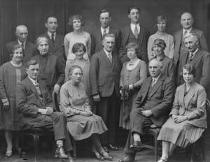 Wedding group, 1929