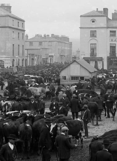 Fair Day, Dungarvan, Co. Waterford (likely 1902-1914)